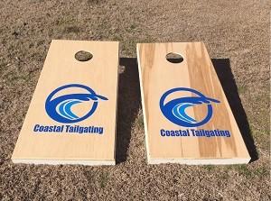 Rent our cornhole boards