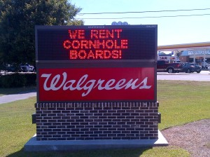 Walgreens digial sign
