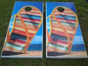 Custom Cornhole Boards in Myrtle Beach
