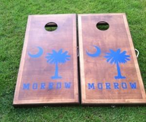 We build Cornhole Boards in South Carolina