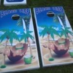 Life's a Beach Custom Cornhole Boards
