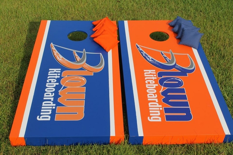 Blown Kiteboarding Cornhole Boards