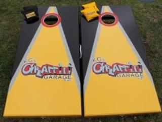 Graffiti Garage Cornhole Boards
