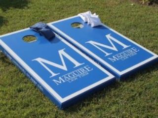 Maguire Law Cornhole Boards