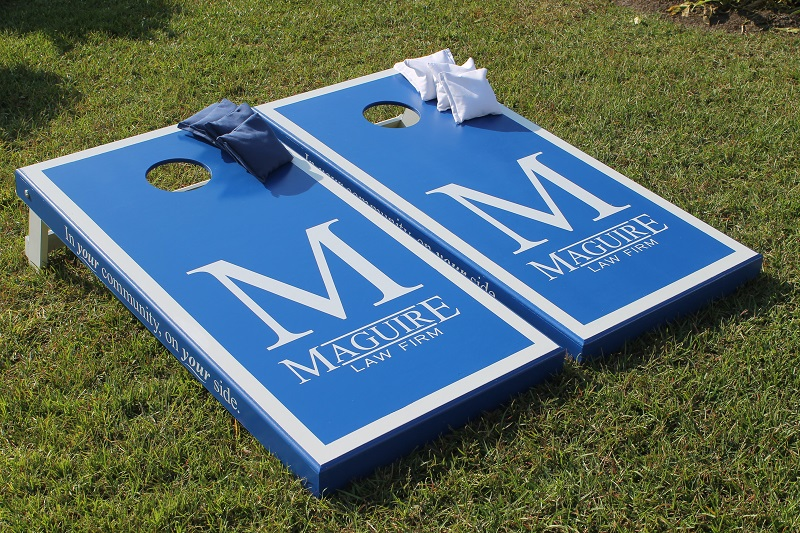 Maguire Law Cornhole Boards
