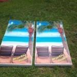 Rent Cool Custom Cornhole Boards