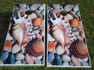 Pretty Custom Cornhole Boards