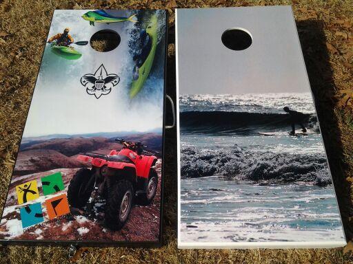 Awesome Custom Cornhole Boards