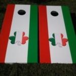 Shamrock Cornhole Boards