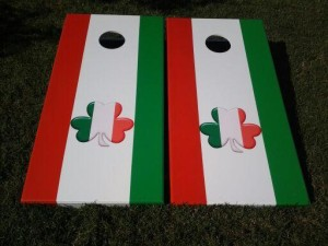 Shamrock Cornhole Boards