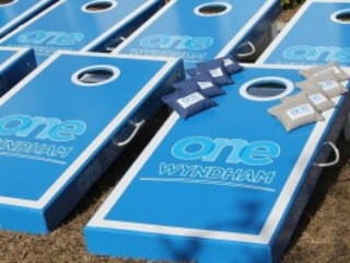 Wyndham Cornhole Boards
