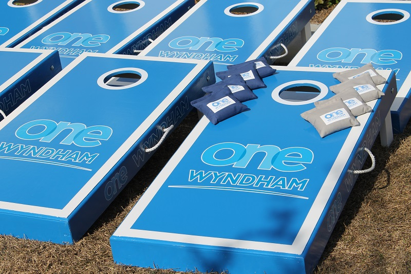 Wyndham Cornhole Boards
