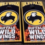 Buffalo Wild Wings Cornhole Boards
