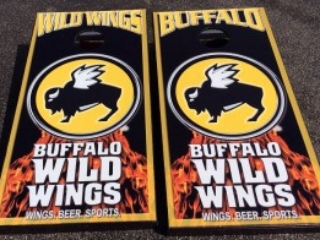 Buffalo Wild Wings Cornhole Boards
