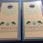 Compass Cove Cornhole Boards