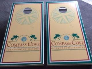 Compass Cove Cornhole Boards