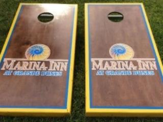 Marina Inn Cornhole Boards
