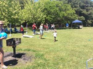 Company picnic and Cornhole Tournaments