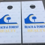 Coastal Tailgating Cornhole Boards Myrtle Beach