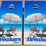 Coastal Tailgating Custom Cornhole Board Sets
