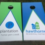 Coastal Tailgating Cornhole Boards for Businesses in Myrtle Beach