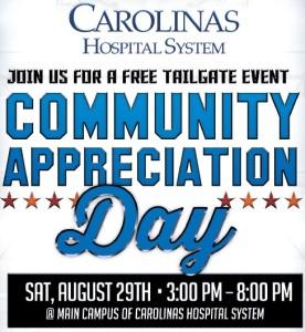 Carolinas Hospital System Community Appreciation Day