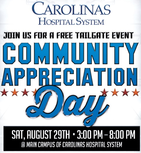 Carolinas Hospital System Community Appreciation Day