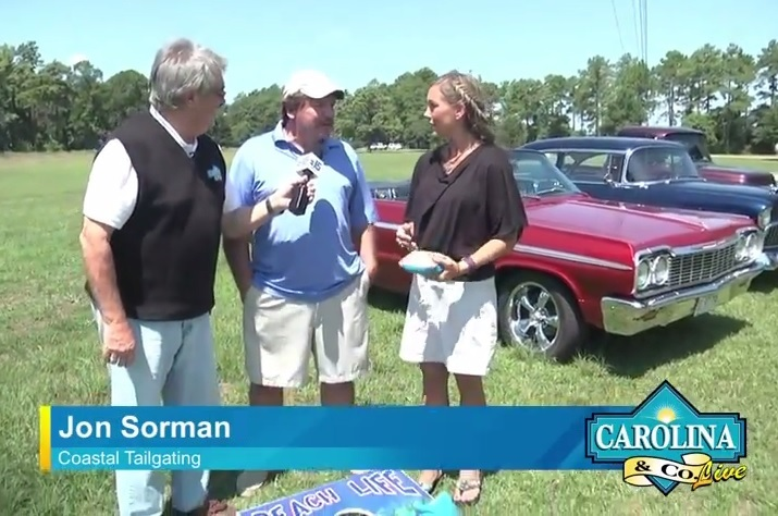 Coastal Tailgating on Carolina and Co LIVE