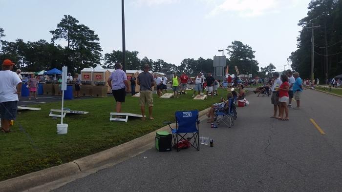 Myrtle Beach Beach Boogie & BBQ Fest Cornhole Tournament