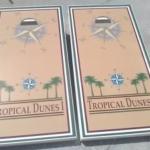 Coastal Tailgating Commercial Cornhole Boards