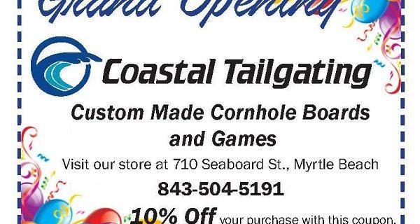 Coastal Tailgating Coupon