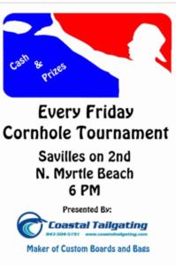 Friday Cornhole Tournaments in Myrtle Beach
