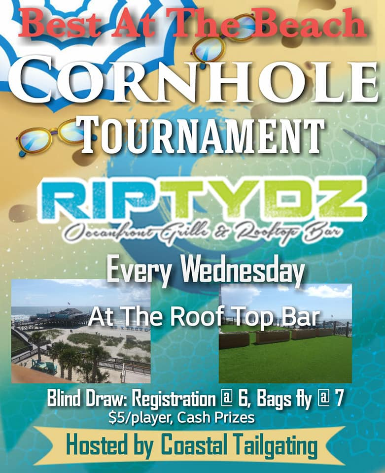 Cornhole Tournaments at Ryptidz Bar