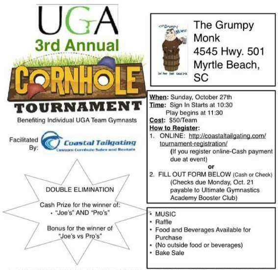 UGA Cornhole Tournament