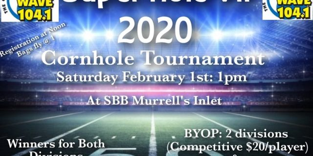 Join us for a great Cornhole Tournament
